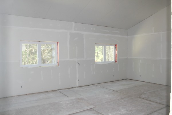 Master bedroom - this room is very large but I couldn't be more happy with the size. It will be a true retreat bedroom with an area for two sitting chairs and a small table.