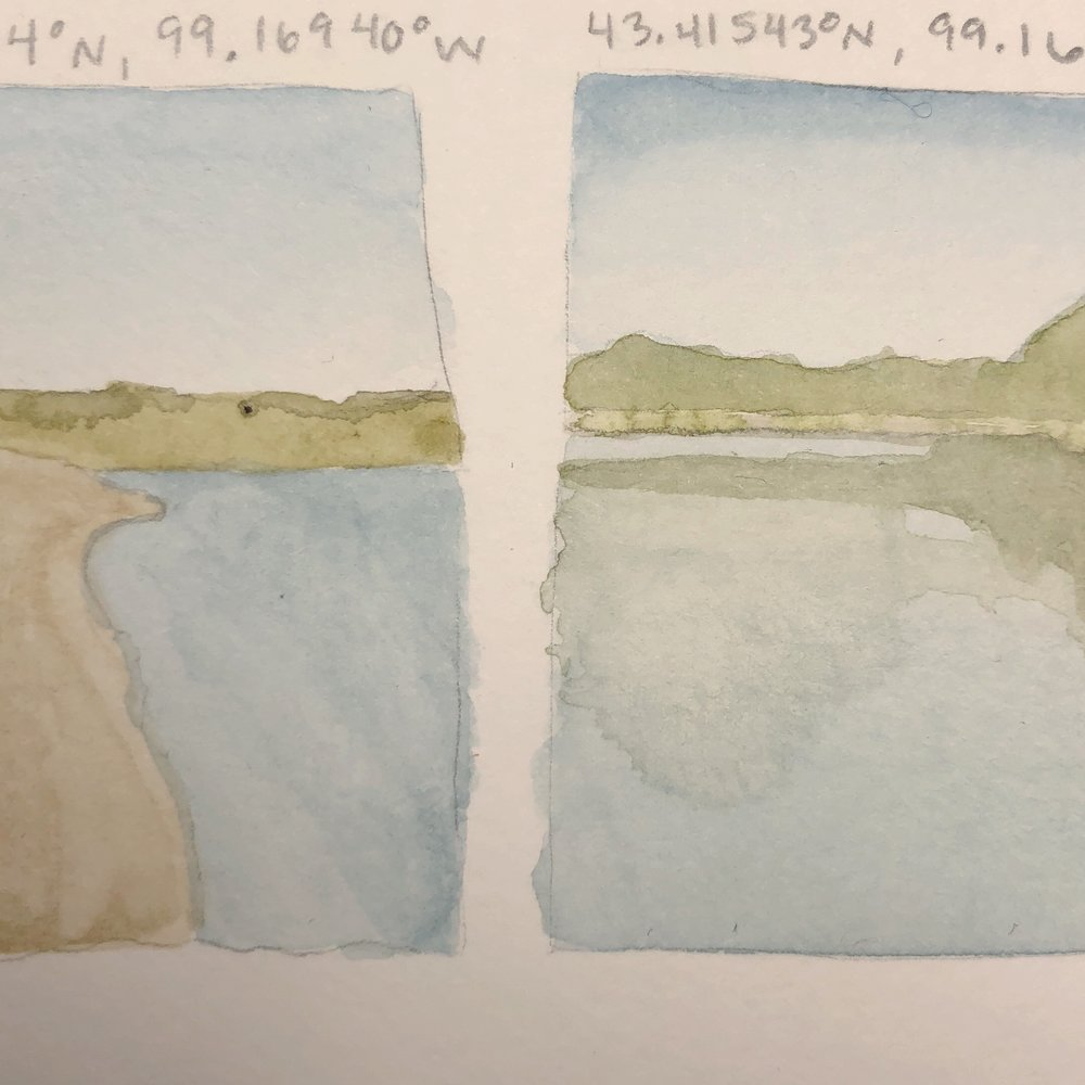 Sketches from Buryanek Recreation Area