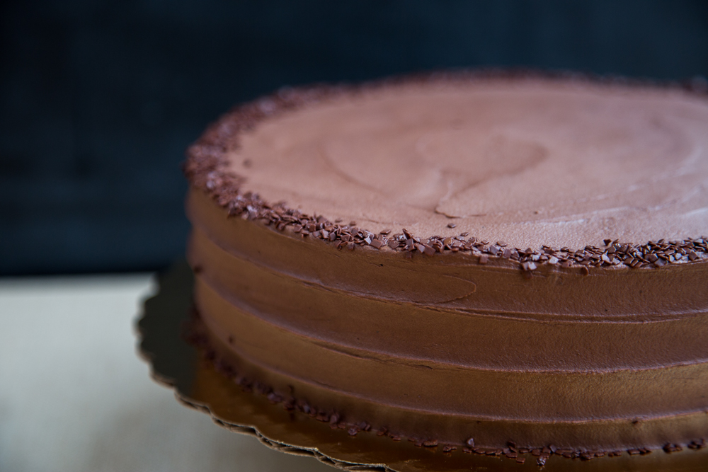 10 in Double Chocolate Cake