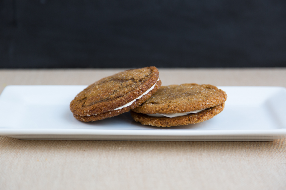 Gingersnap Cream Pies