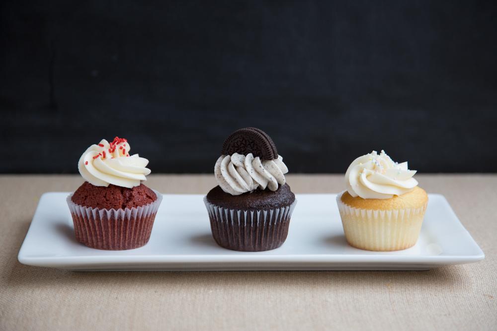 Red Velvet, Cookies n Cream, Perfect White