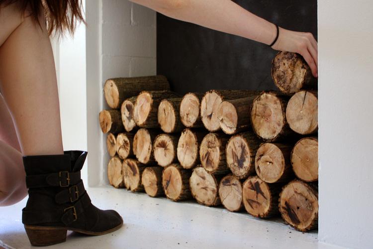 Hunt & Harvest Fireplace DIY - DIY FAUX FIREPLACE €� HUNT & HARVEST
