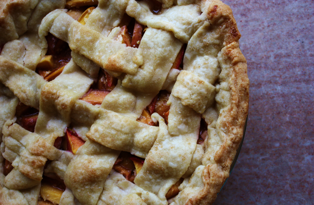 Hunt & Harvest Nectarine Lattice Pie
