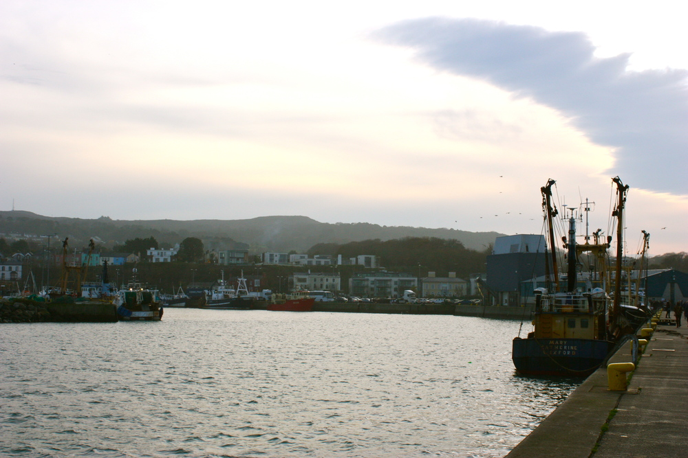 "Almost irrelevant picture of Howth that does little besides establish a ""vibe."""