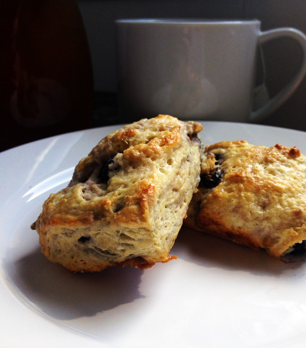 Maple Blueberry Scones via hunt-and-harvest