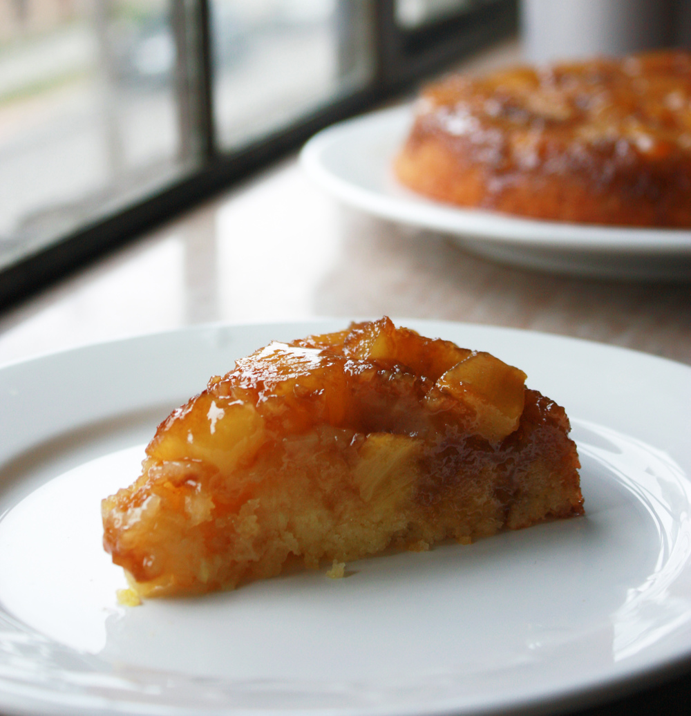 Pineapple Upside Down Cake // Hunt & Harvest
