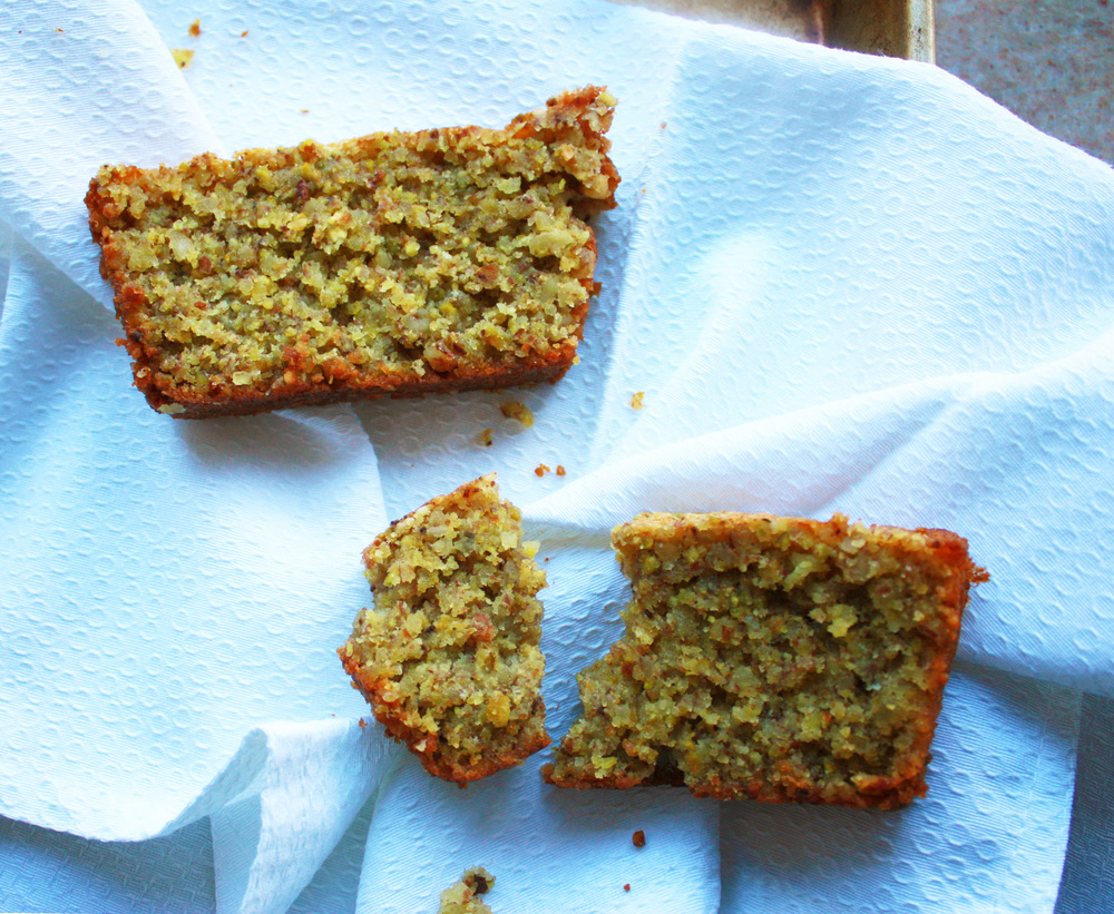 Pistachio Orange Snack Cake (Gluten Free) // Hunt & Harvest
