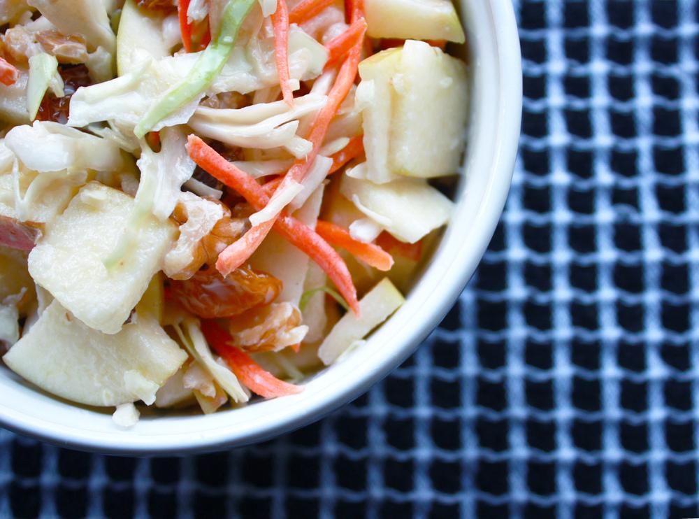 Skinny Waldorf-ish Salad // Hunt & Harvest