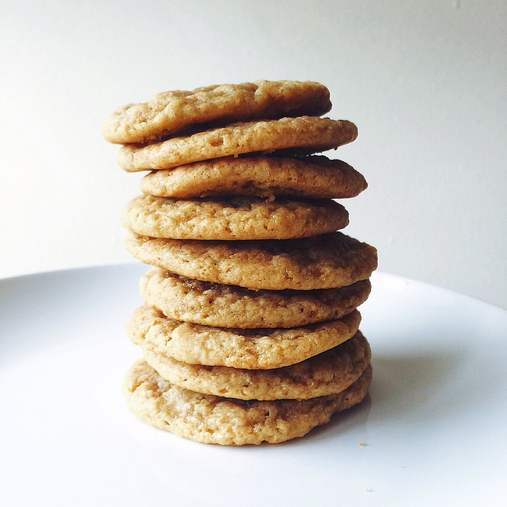 peanut butter and fig cookies