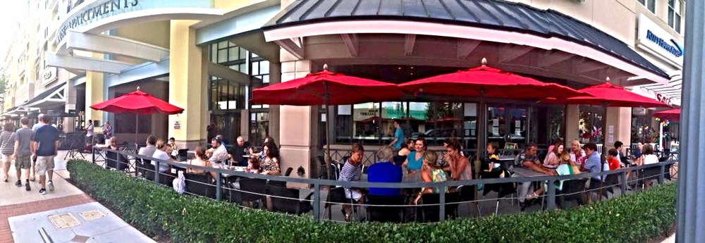 Outside Patio with live Music