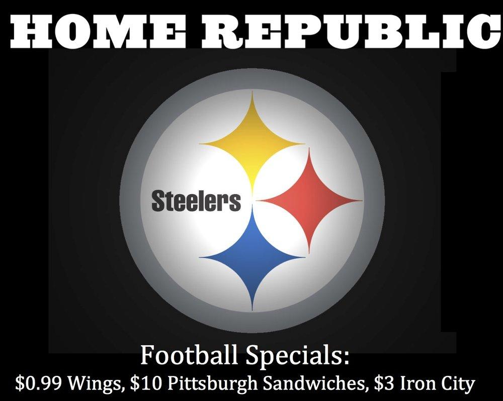 Steelers V Bears Home Republic