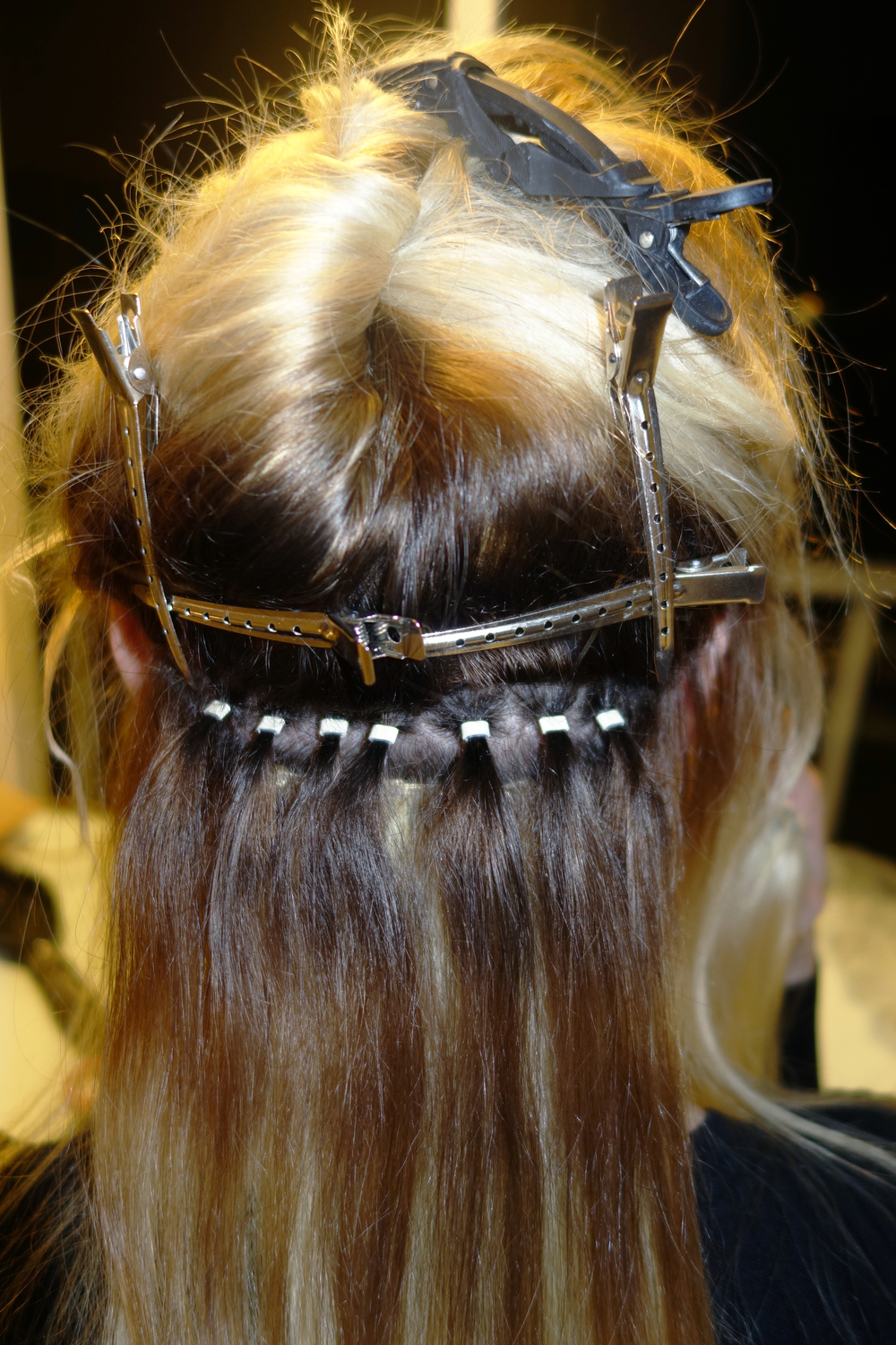 Flat tracks pretty glamorous hair extensions fast track hair extensions installation starts with installing beads pmusecretfo Choice Image