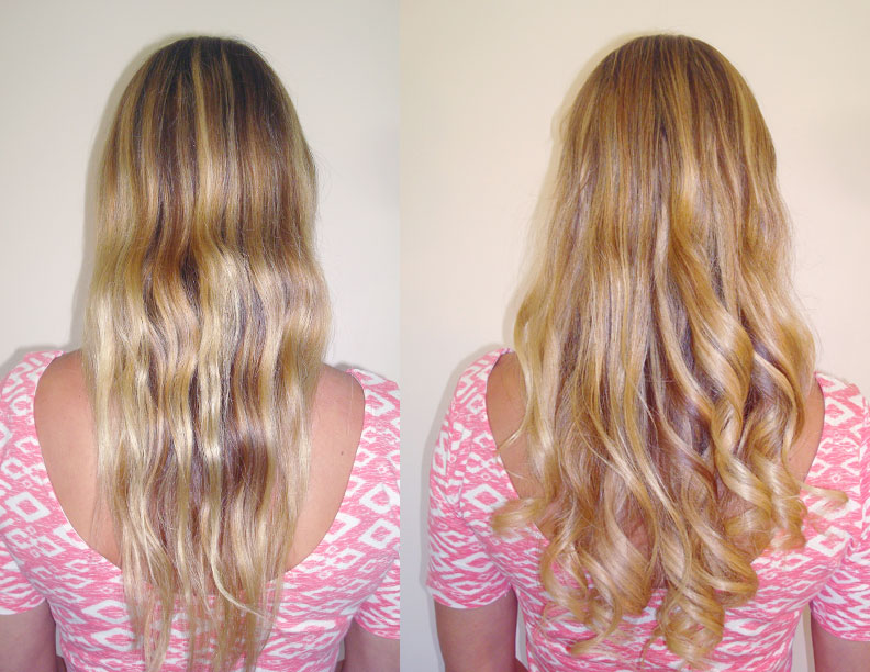 Fusion pretty glamorous hair extensions before and after keratin fusion hair extensions pmusecretfo Images