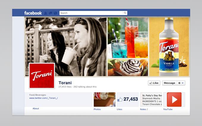 Facebook presence  facebook.com/I.Like.Torani