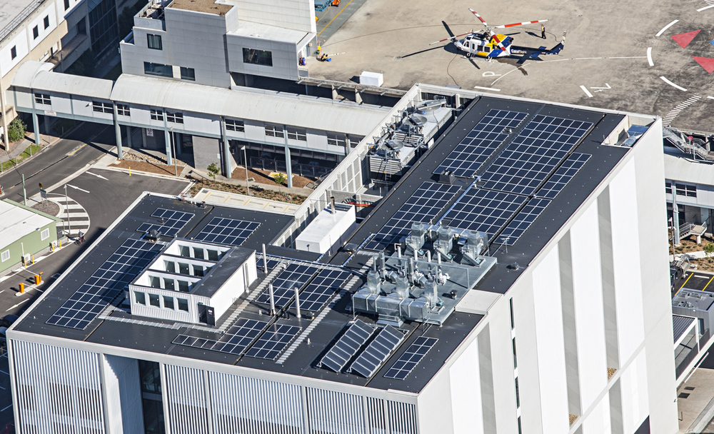 ReneSola panels on WestMead Medical Institute NSW, Australia
