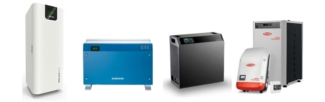 Some of the solar hybrid (all-in-one) systems currently available