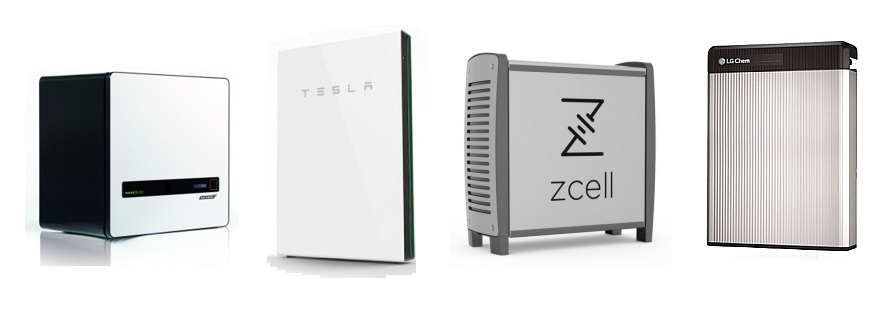 Solar battery energy storage systems from LG Tesla