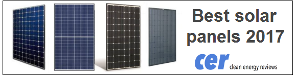 The best solar panels for 2017 from leading manufacturer's Sunpower, LG, REC, Winaico and more...