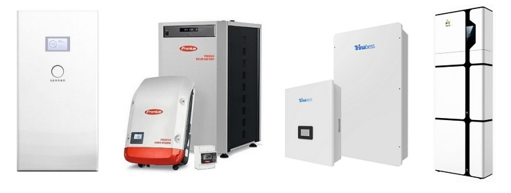 2  Complete hybrid systems with built-in battery storage