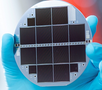 Silicon-based Multi-junction Solar Cell - Image credit  Fraunhofer ISE