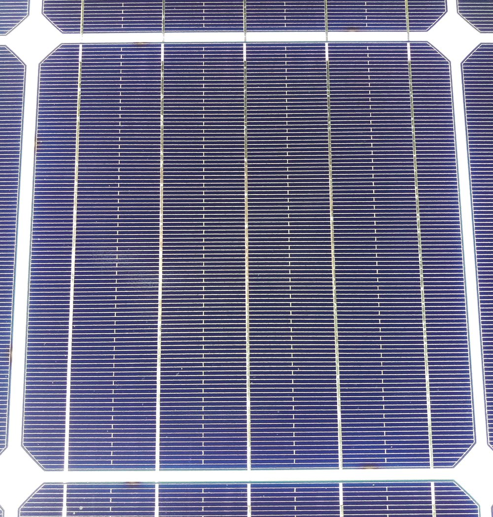 Solar Panel Construction Clean Energy Reviews Cells Produce Dc Electricity From Light Sunlight Contains A Monocrystalline Cell Click To Enlarge