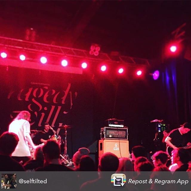 Counterparts killed it tonight @studiosevenseattle @selftilted #melodichardcore #livemusic #seattlemusicscene