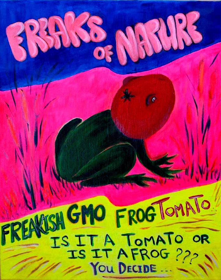 GMO Frog Tomato