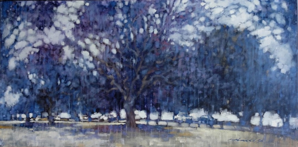 "'Lilac ringroad, New Farm Park"""