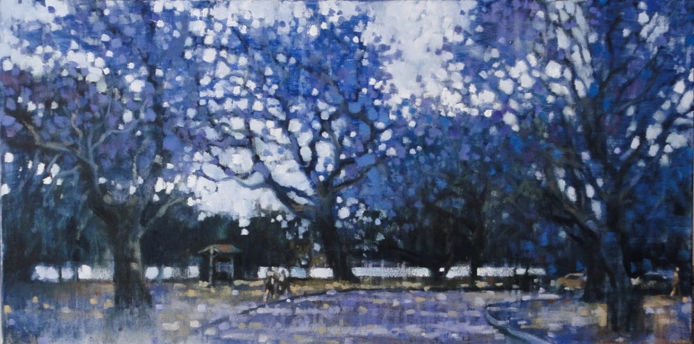 """Jacaranda Avenue, New Farm Park"""