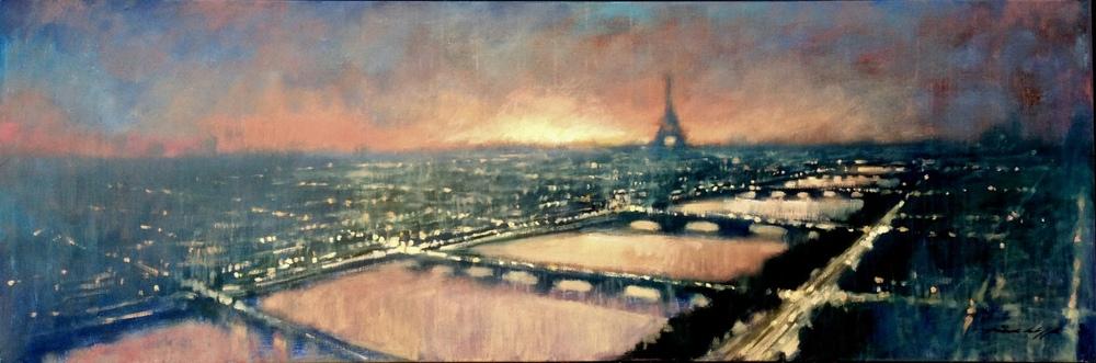 Dusk -- Paris