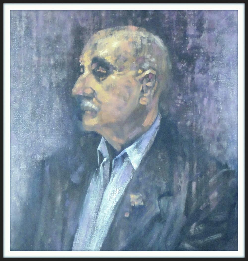 Bruce Dawe Poet (detail)