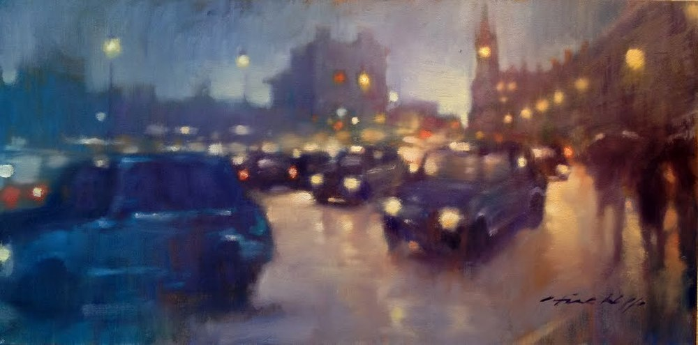Cabs, St Pancras Station, London