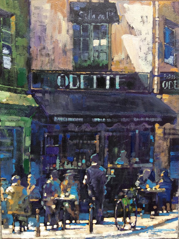 'Odette', Rue Galande, Paris