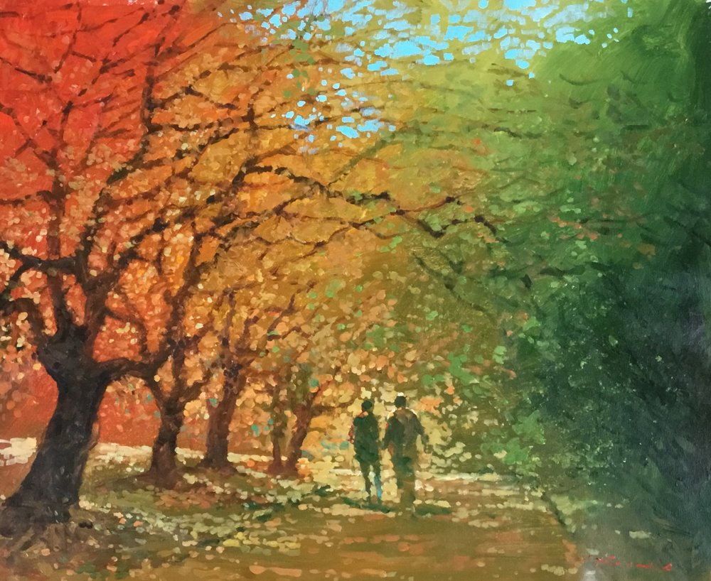 10. Golden Afternoon.  Acrylic on canvas. Approx 60x70cm. $2000jpg.jpg