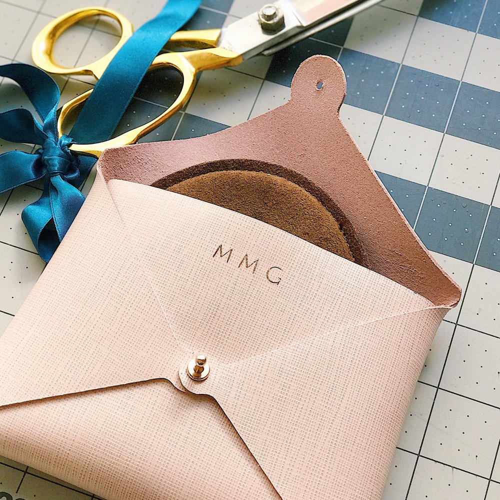 MONOGRAMMING YOUR POUCH