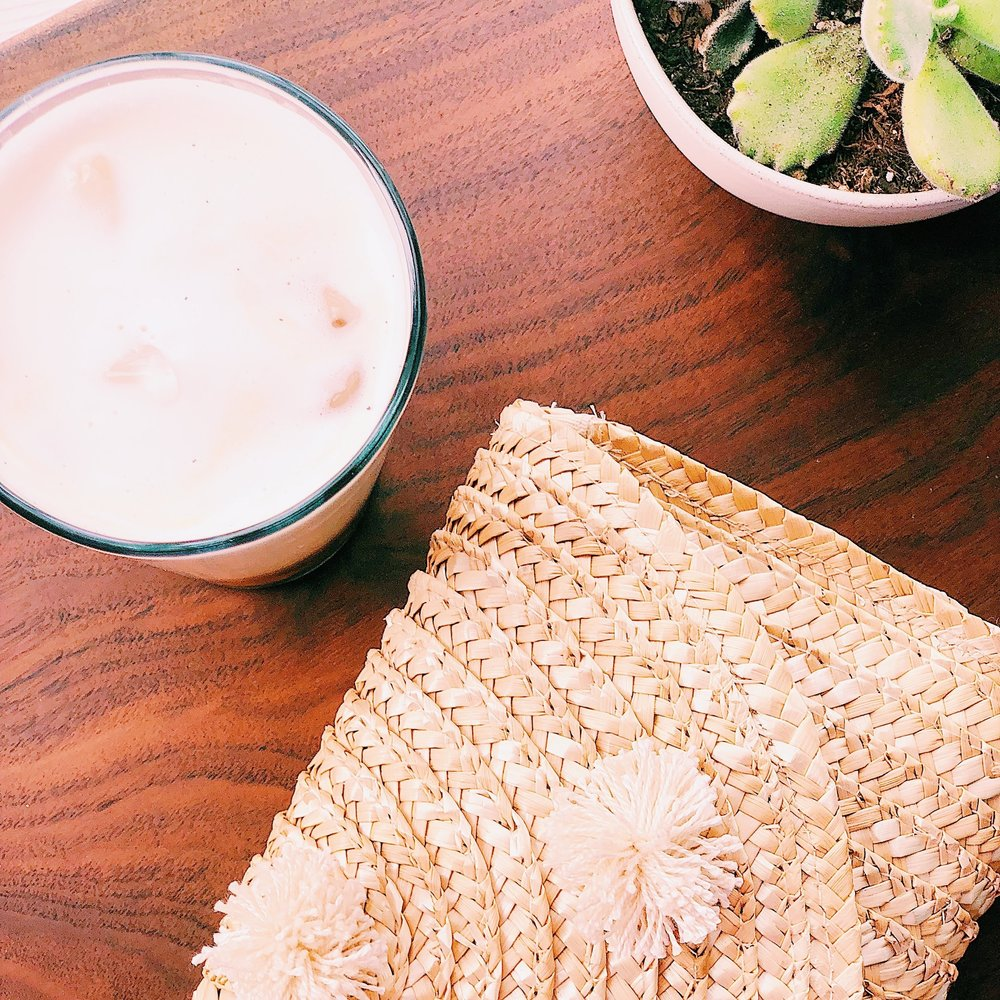 YOUR COFFEE DATE: THE RAFFIA CLUTCH
