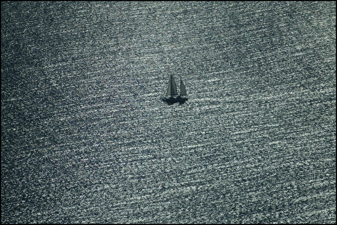 One of my favourite shots of Pelican1- the sea looking like a fine steel mesh. Taken during Blue Whale research. Photo: Sandy Scheltema #oceans #phtooftheday