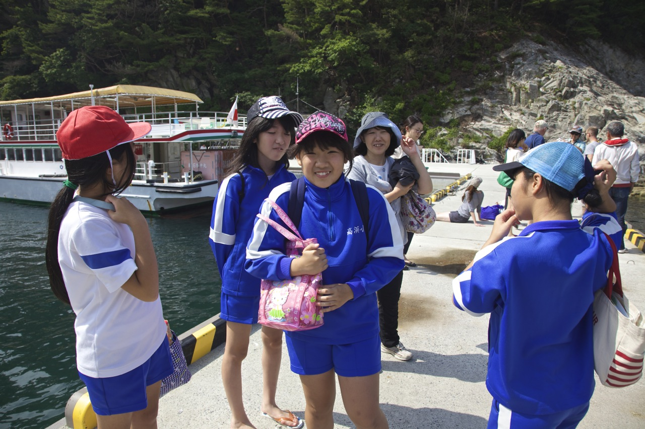 As part of IPMEN (International Pacific Marine Educators Network) conference 2014 in Japan, we (IPMEN delegates) took school kids from the IWATE prefecture, who had endured the 2011 tsunami, on their first marine excursion.