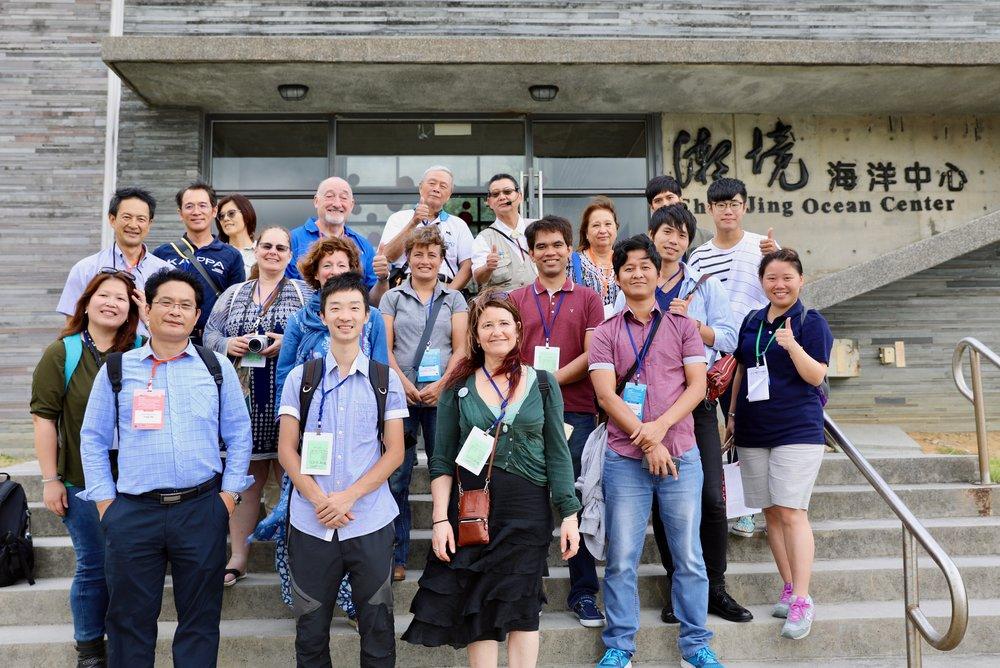 Some of the IPMEN Taiwan crew.