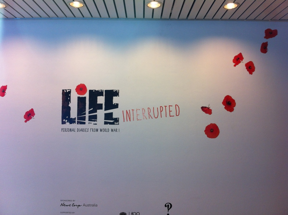 Life Interupted Exhibition - State Library NSW