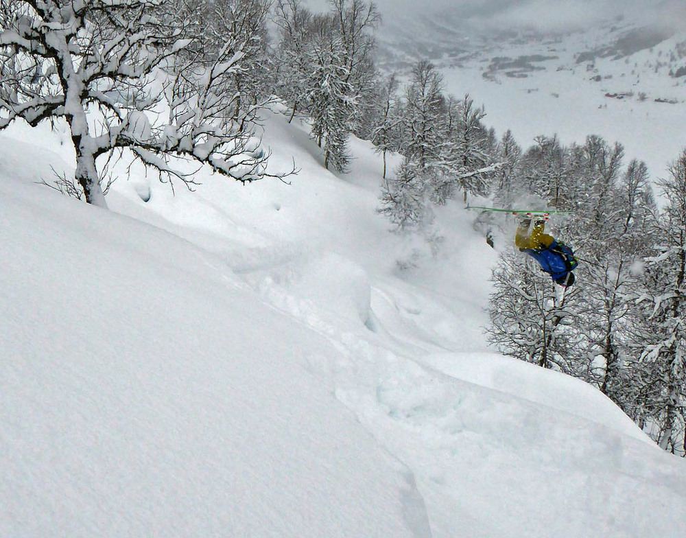 Sogndal Side country laps - Photo: Manuela Mandl