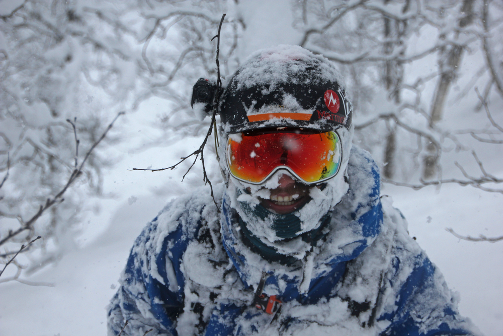 Loving the sogndal Pow, rocking my Scott LCG goggles and Scott Symbol Helmet. Photo: Tijntje Vuijk