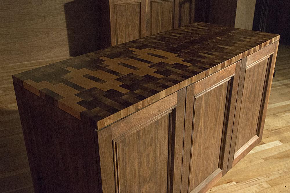 wildwood bespoke & company custom wetbar countertop portland oregon