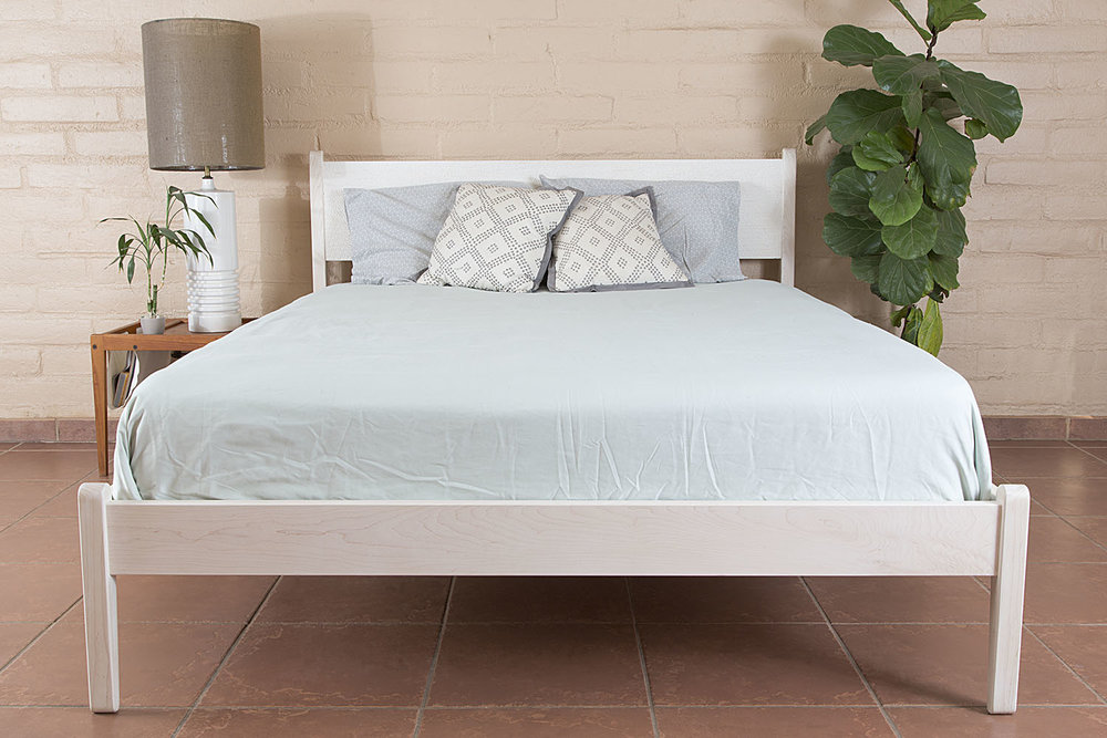 Kyle D\'Auria - Bleached Maple Bed Frame