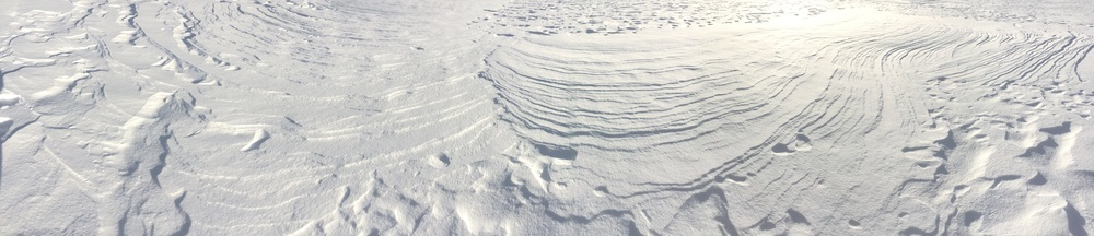 WINDBLOWN SNOW I