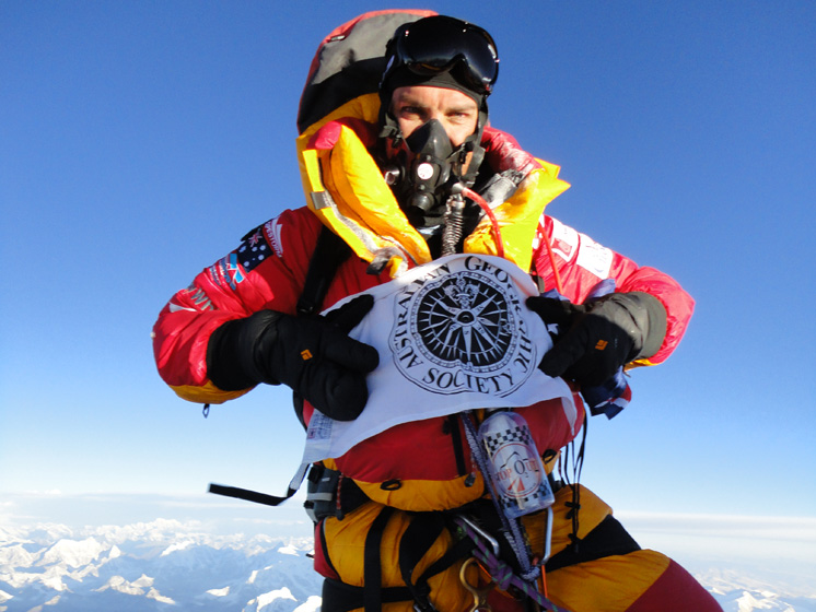 Pete Wells_Everest Summit