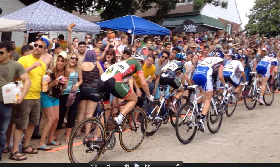 Bell lap up crybaby hill. Me versus the 'Blue Train' UHC