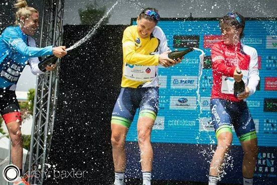 Need to work on my technique of spraying the champagne #novicemistake #nothumb