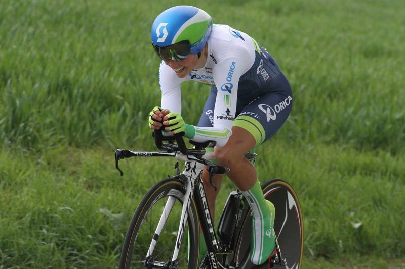 grimacing NOT smiling in the prologue