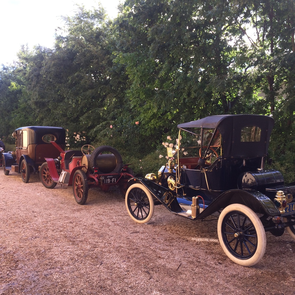 We had a car club sharing our accommodation in Tuscany. Look at these beauties